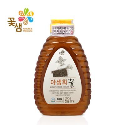 꽃샘 아카시아꿀/야생화꿀 500g