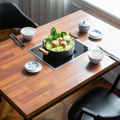 모리 인덕션 멀바우 식탁 (인덕션포함)