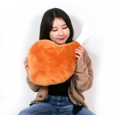 갓샵 55cm 대형 닭다리쿠션 치킨인형 닭다리인형