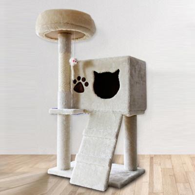 [봉봉펫닷컴] 고양이 4층 튼튼 캣타워 B