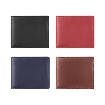 [송아지가죽] 지갑 슬림형 플레인 Calfskin 4 Color  [L916]