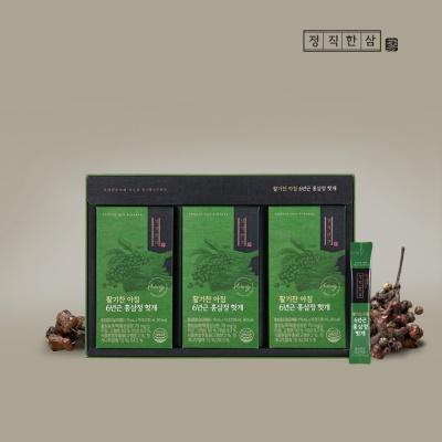[최저가] 정직한삼 정성가득 6년근 홍삼정 헛개 10ml x 30포