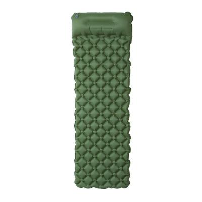 아스트로 베개일체 에어 캠핑매트(그린) (195x60cm)