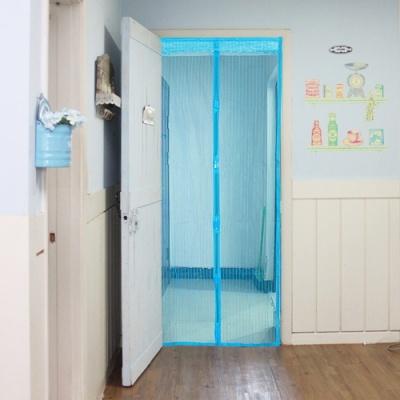고급 문 모기장(블루) (100cm)