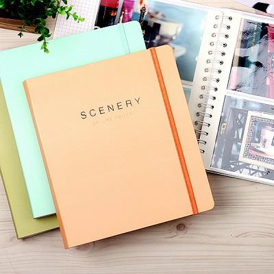 SCENERY OF LIFE MEMORY - 4x6 Photo Album ver.02 - 오렌지