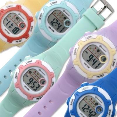 포포팬시 쿠키 디지털 손목시계