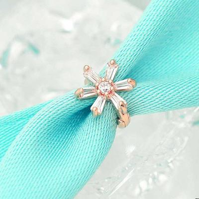 Snow Flower  14K rose gold 링피어싱 한쪽 CH1719588