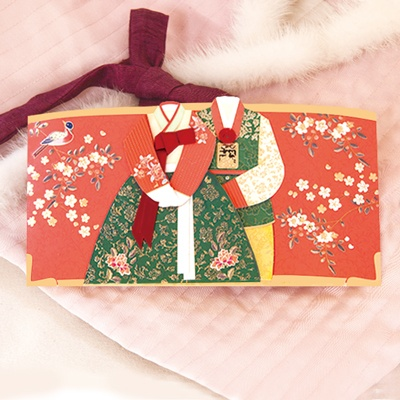 홍화 한복봉투 FB306-5