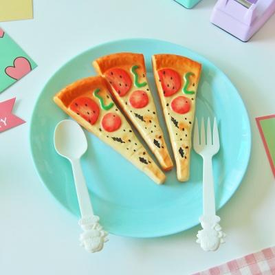 피자 자석 볼펜