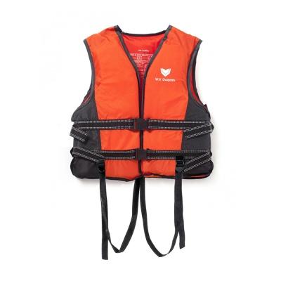 국산 돌핀 오렌지 구명조끼(M) / 물놀이안전 수영조끼