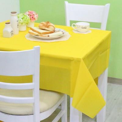 칼라 비닐 테이블보-옐로우(1매입)