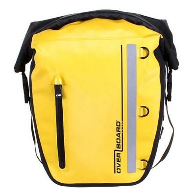 오버보드 클래식 시리즈 방수 자전거 짐 가방 - 17리터, 옐로우, 자전거 패니어 [OB1159Y]