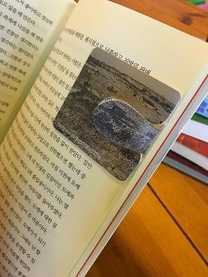 자동 책갈피 수지인 빈센트 반 고흐 수확