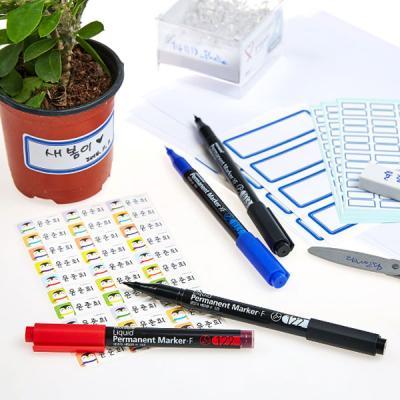 모나미 네임펜 생잉크 F122 중간닙 싸인펜