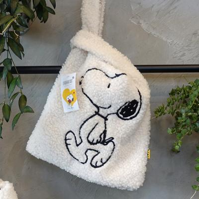 [Peanuts]스누피 부클백(Snoopy boucle bag)