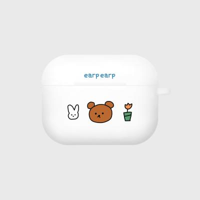 bear and rabbit-white(Air pods pro)