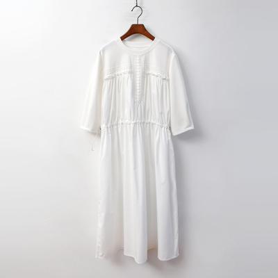 Perla Lace Long Dress