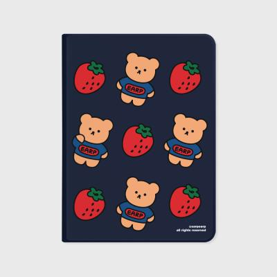Strawberry bear-navy(아이패드-커버)