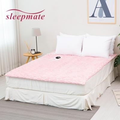 슬립메이트 전기온실매트 극세사-핑크 (슈퍼싱글/퀸분리형중택일)