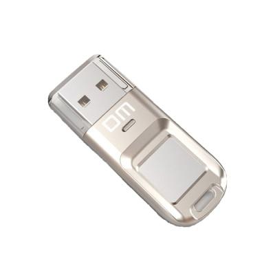 위즈플랫 DM 지문인식 보안 USB메모리 PD065 64GB (AES256비트 암호화 / 최대 6인 지문등록)
