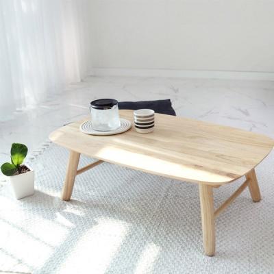 벤트리 원목 라운디시 접이식 폴딩 테이블 80