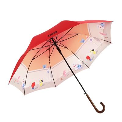 [BT21] 이중지 자동 장우산