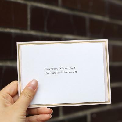 호호호 산타 크리스마스 카드 2장 세트 : 중학교 교구