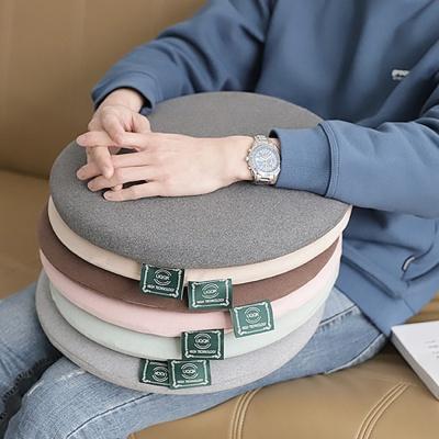 원형 메모리폼 카페 사무실 방석 의자 쿠션