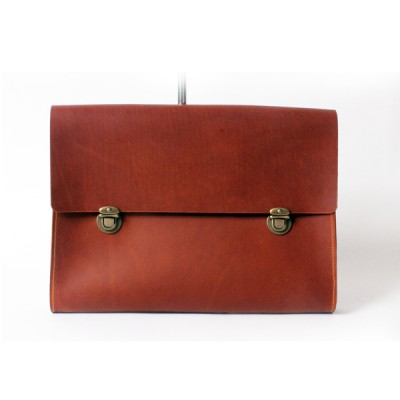 oil vintage clutch(dusty brown)
