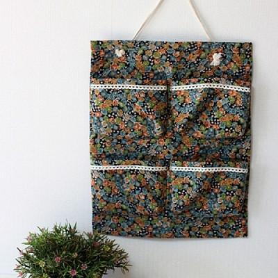 [콩지] 베리 멀티 4구 수납걸이