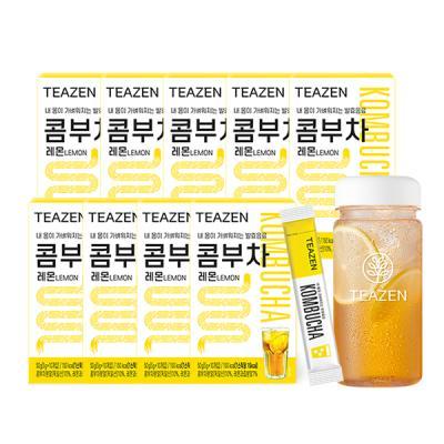 티젠 콤부차 레몬 4주분 (90스틱+보틀)