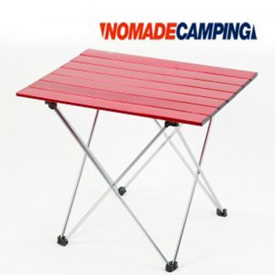 노마드 알루미늄 롤 테이블 7단-레드/캠핑테이블