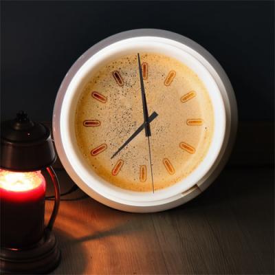 nf130-LED시계액자35R_향긋한커피거품