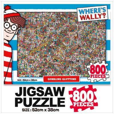 윌리를 찾아라 직소퍼즐 800pcs: 먹는걸