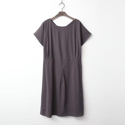 Linen Cotton Pin Dress