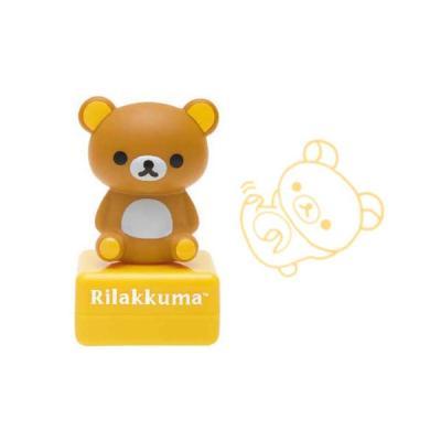 리락쿠마 스탬프 - 뒹굴 FT01801