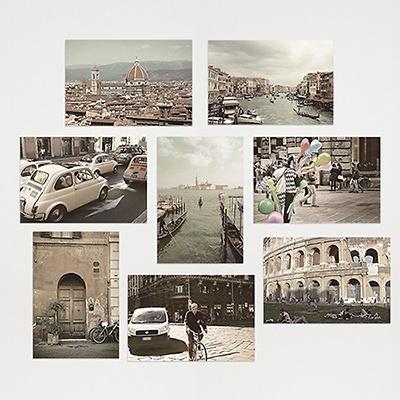 I LOVE ITALY POST CARD