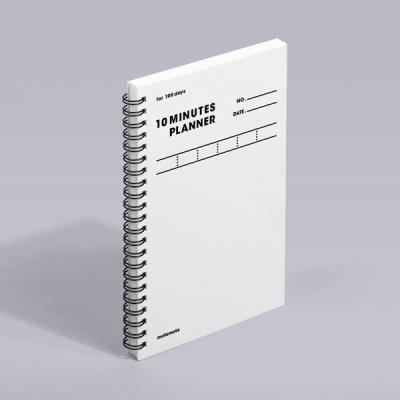 [모트모트] 텐미닛 플래너 100DAYS - 화이트 (1EA)