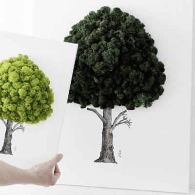 [앨빈디자인] 스칸디아모스 인테리어 액자 15호9color
