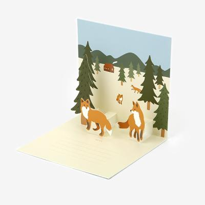 팝업 카드 - 14 Fox