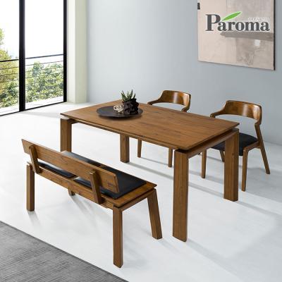 파로마 엠마 4인 벤치형 식탁세트 IR15