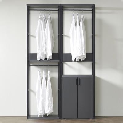 즐거운가구 착한가격 드레스룸 수납 세트 1200