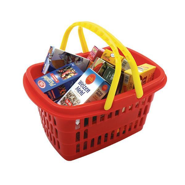 [완구] 마트 바구니와 식료품 박스