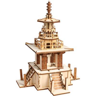 교육용 목재 입체퍼즐 - 영공방 불국사 다보탑