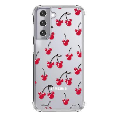 (방탄케이스) 디즈니 체리패턴 휴대폰케이스