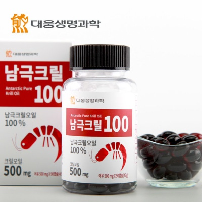 대웅생명과학 남극크릴100 (500mgx90캡슐 3개월분)