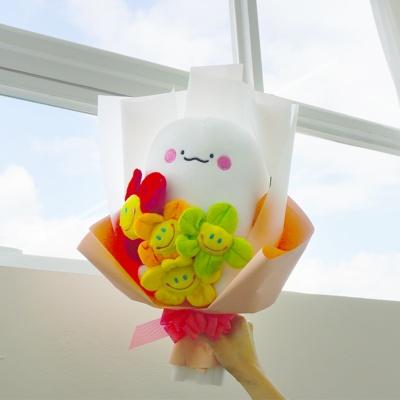 익명이 스마일꽃 인형 꽃다발 졸업 재롱잔치 기념일