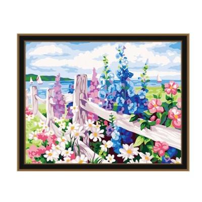 DIY 명화그리기 [ 꽃의 바다 ] - 40cm*50cm