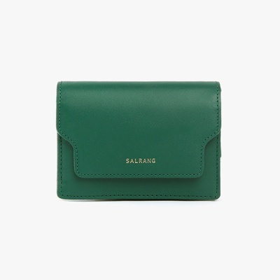 [재입고] REIMS W020 zip Card Wallet Green