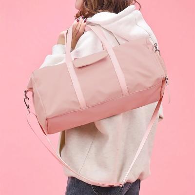 라이트 데일리 더플백(핑크)